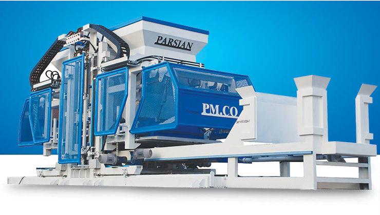 Полностью автоматическая машина для производства бетонных блоков TP.RN3036