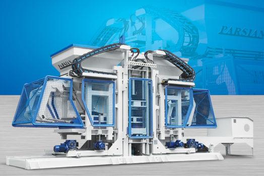 Полностью автоматическая машина для производства бетонных блоков TP.RN2530