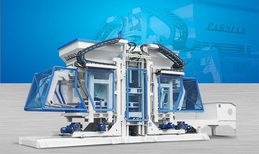 Полностью автоматическая машина для производства бордюрного камня TP.RN2530