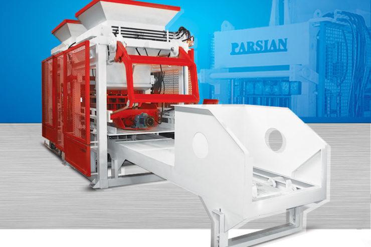 Автоматическая машина для производства бетонных блоков TP.RN1518