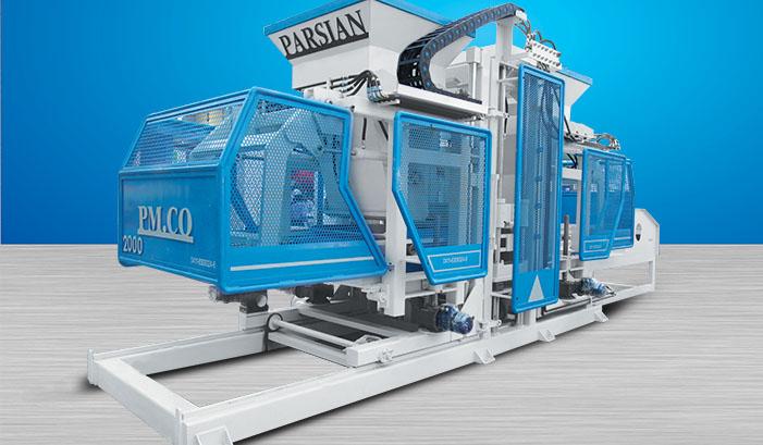 Полностью автоматическая машина для производства бордюрного камня TP.RN2025